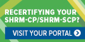 Recertify your SHRM-CP/SCP by December 31, 2017
