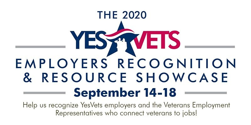 YesVets Employers Recognition & Resource Showcase